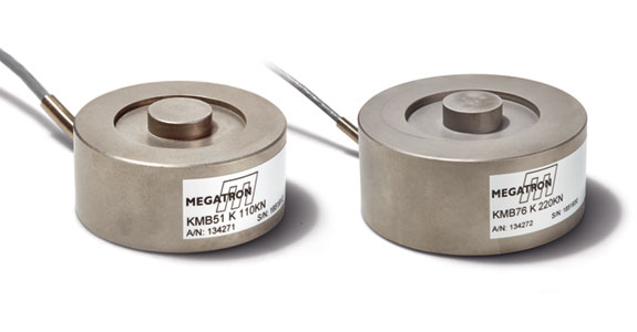 Kraftsensoren KMB51 und KMB76 MEGATRON