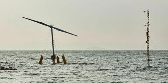 Offshore-Windkraftanlage aerodyn