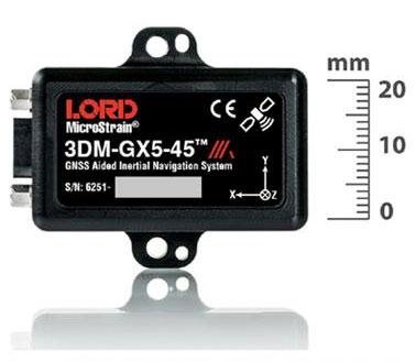 3DM-GX5-45 mit integriertem GNSS/GPS-Empfänger und Extended Kalman Filter