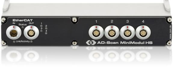 AD4 ECAT MiniModul-Serie