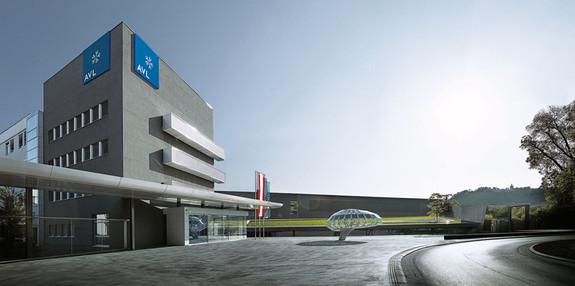 AVL Headquarter in Graz