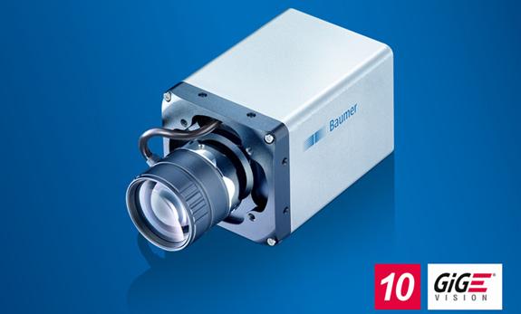 10 GigE Kameras der LX-Serie von Baumer