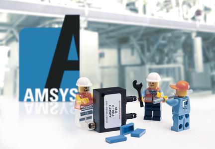 Medienkompatible Drucktransmitter im LEGO-Format