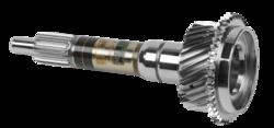 Getriebeeingangswelle mit Flex-Sensorsignalverstärker, Sensor und Antenne