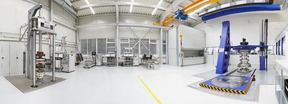 Klimatisiertes Kalibrierlabor von MANNER Sensortelemetrie