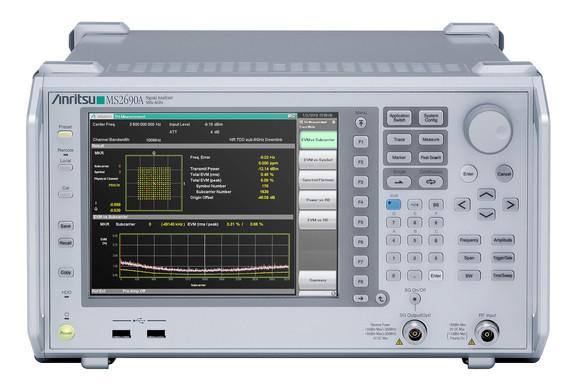 Signalanalysator der Baureihe MS269xA von Anritsu