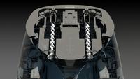 S-Track eingebaut im Abdomen