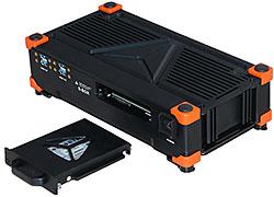 S-BOX mit herausnehmbarer Festplatte