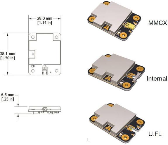 G-Link-200-OEM Maße und Anschlussmöglichkeiten