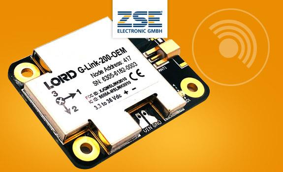 G-Link-200-OEM - Drahtloses Messsystem / Datenlogger für Beschleunigungen