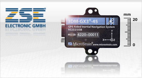 3dm Gx3 45 Mit Integriertem Gps Empf 228 Nger Und Kalman Filter